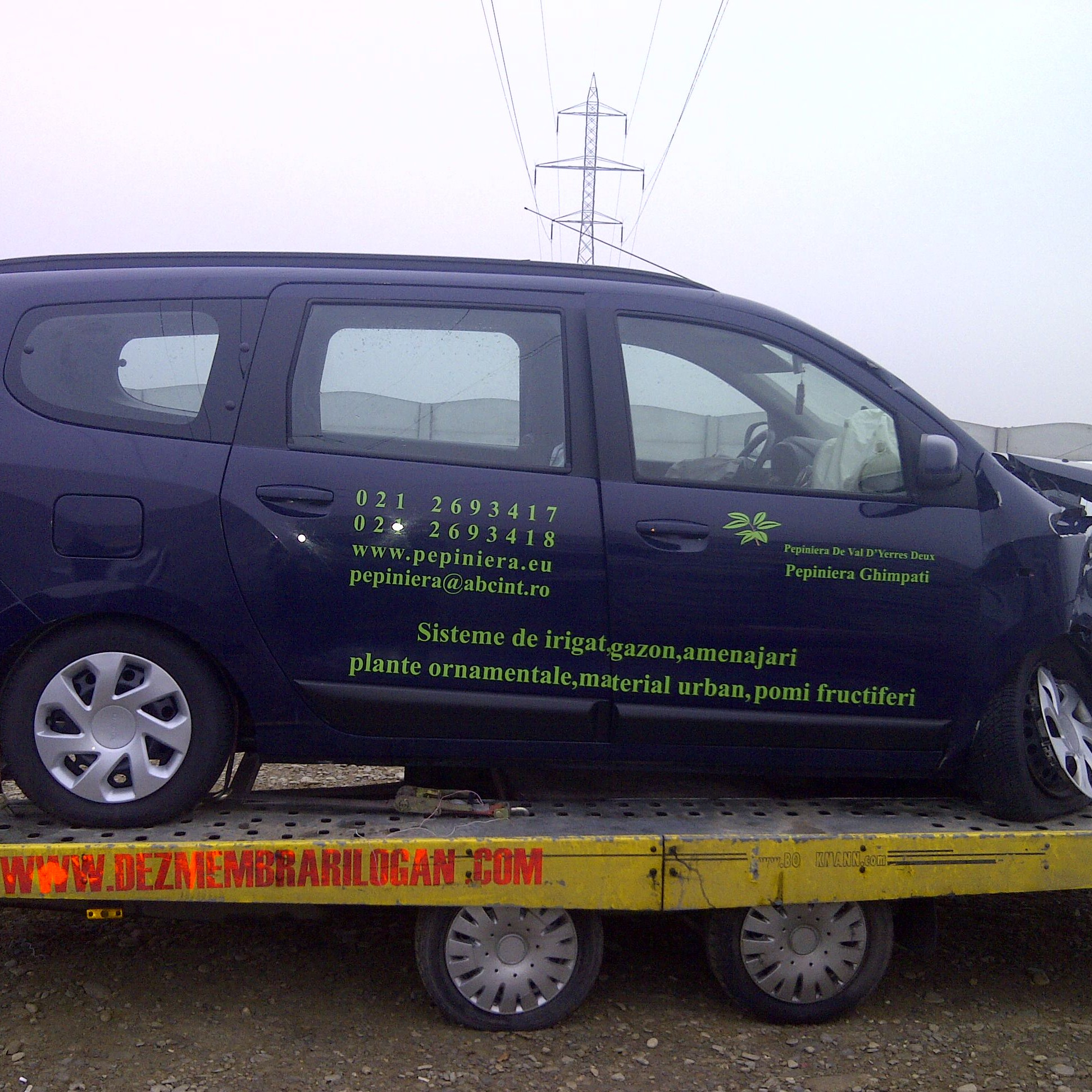 Dezmembrari Dacia Lodgy